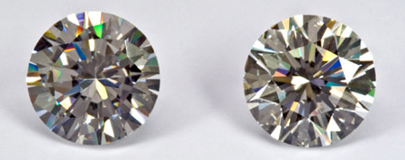 Simulated Diamonds Do They Look Real