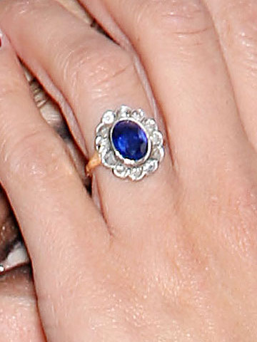 And Penelope Cruz' ring though I don't know if they've officially announced