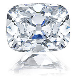 Fake Diamonds - Asha elongated cushion cut