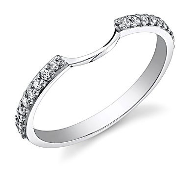halo wedding band - Wedding Band For Halo Engagement Ring
